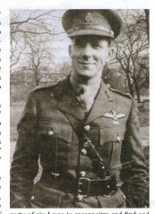 Cover photo - Major Ian G. Neilson after investiture January 1945
