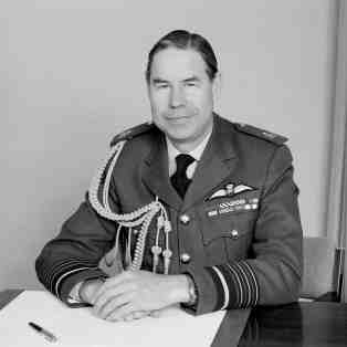 Air Chief Marshal Sir Douglas Lowe, Controller of Aircraft, 24 June 1978